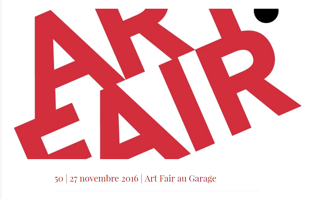 Art fair exposition vente au garage saint nazaire for Garage auto saint nazaire