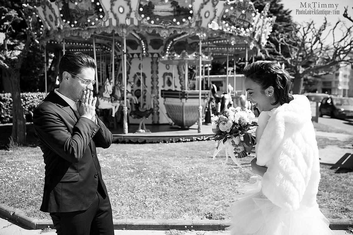photo couple mariage niviac saint nazaire loire atlantique la baule mrtimmy photographe mariés se découvre
