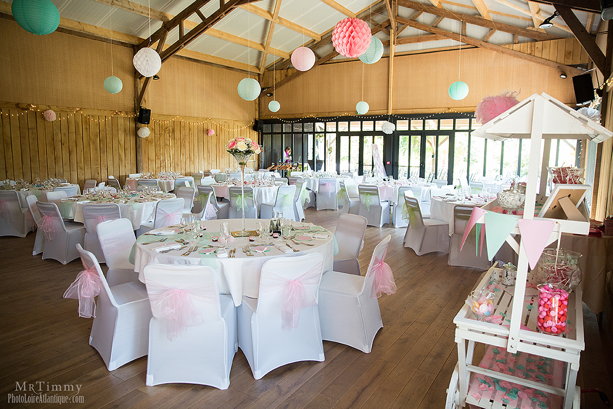 décoration table mariage saint nazaire salle c est ici mrtimmy photographe mariage