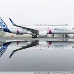 L'Airbus A321 Long Range à Saint Nazaire